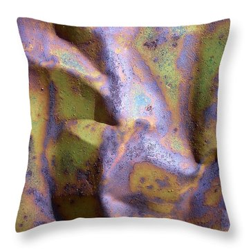 Mojave Rust Throw Pillow