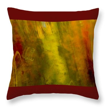 Throw Pillow featuring the photograph Mojo by Darryl Dalton