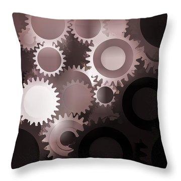 Mojo Synchronicity Throw Pillow by Bob Orsillo