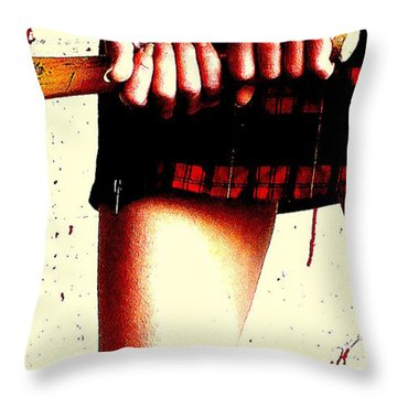 Molly's Hatchet Throw Pillow