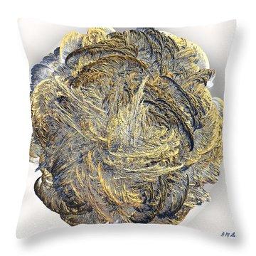 Molten Throw Pillow by Michael Durst