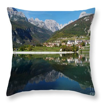Molveno - Italy Throw Pillow