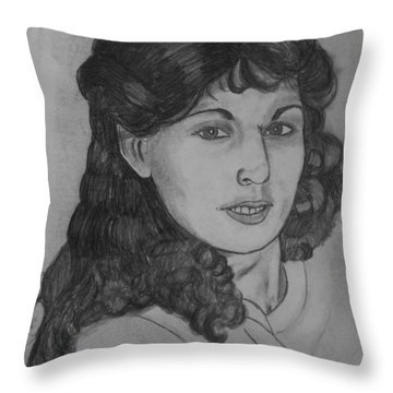 Mom 1988 Throw Pillow by Justin Moore