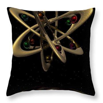 Momentary Sputnik 1  Throw Pillow