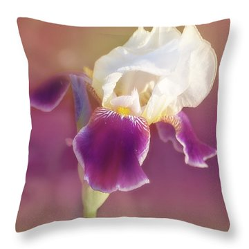 Moments In Time- Vivid Memories Throw Pillow by Janie Johnson