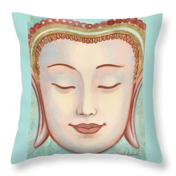 Moments Of Bliss Throw Pillow by Judith Grzimek