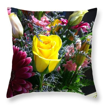 Moments Of Caring Throw Pillow