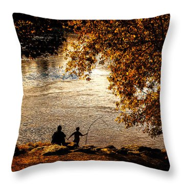 Moments To Remember Throw Pillow by Bob Orsillo