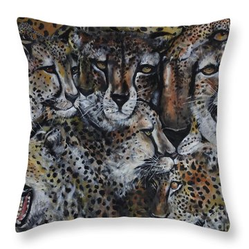 Momentum Throw Pillow by Laneea Tolley
