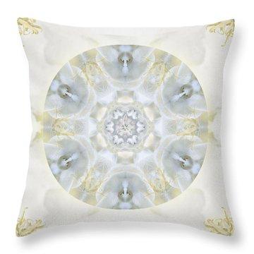 Monoi Throw Pillow