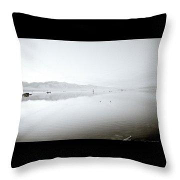 Mono Lake Serenity Throw Pillow by Shaun Higson