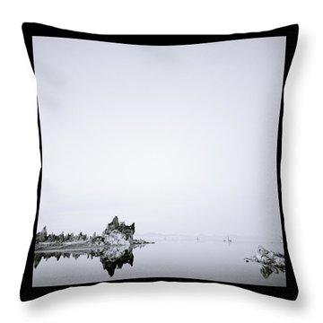 Still Waters Run Deep Throw Pillow by Shaun Higson