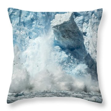Monolith Throw Pillow by Ted Raynor