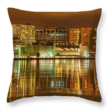Monona Terrace Madison Wisconsin Throw Pillow