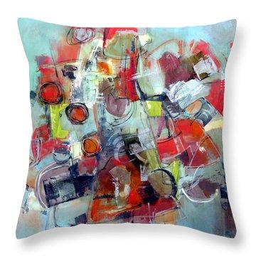 Monopoly Throw Pillow by Katie Black