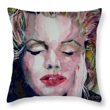 Monroe No 6 Throw Pillow by Paul Lovering