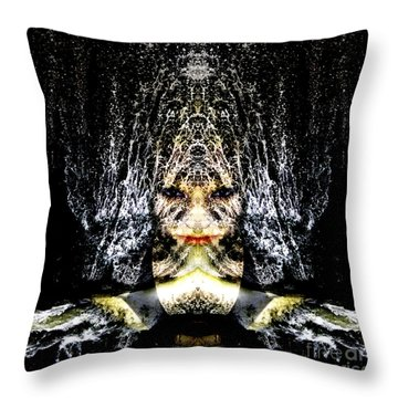 Throw Pillow featuring the photograph Monsoon by Heather King