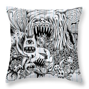 Characters Throw Pillows