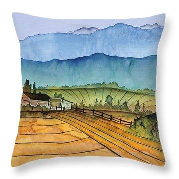 Montana Dreams Throw Pillow