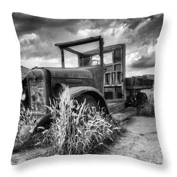 Montana Hauler Throw Pillow