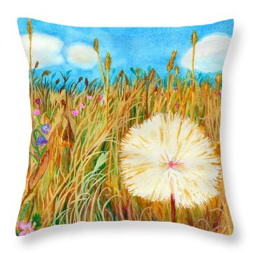 Montana Hike Throw Pillow