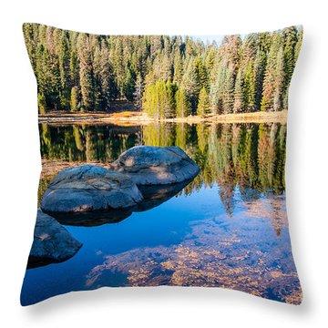 Montecito Lake Throw Pillow