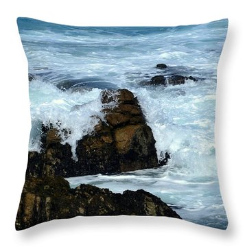 Monterey-2 Throw Pillow by Dean Ferreira
