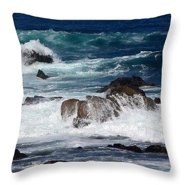 Monterey-6 Throw Pillow by Dean Ferreira