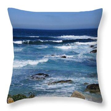 Monterey-9 Throw Pillow by Dean Ferreira