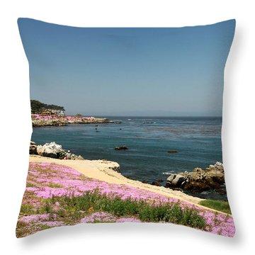 Monterey Bay Throw Pillow