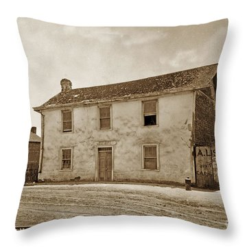 Monterey Whaling Station Circa 1895 Throw Pillow by California Views Mr Pat Hathaway Archives
