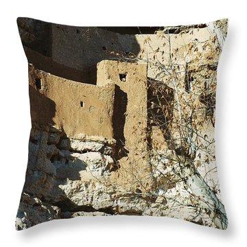 Throw Pillow featuring the photograph Montezuma's Castle by Kerri Mortenson