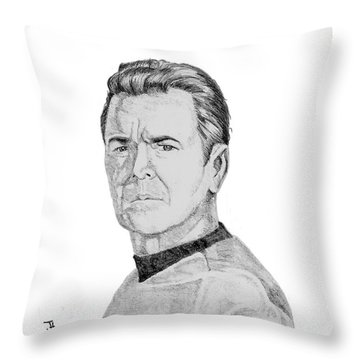 Montgomery Scott Throw Pillow