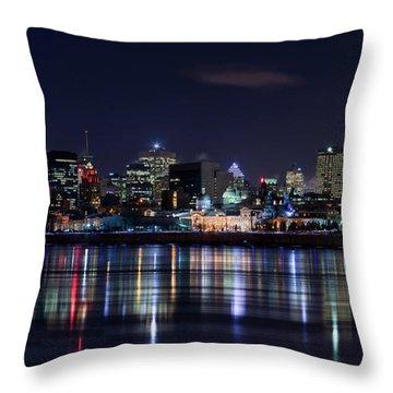Montreal Throw Pillows