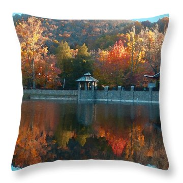 Montreat Autumn Throw Pillow