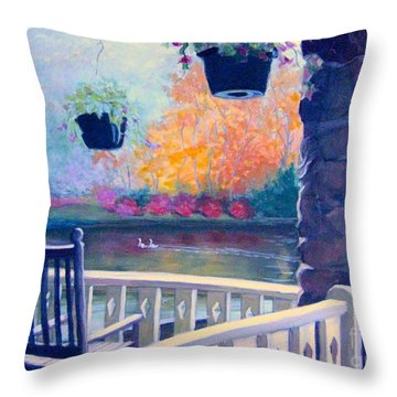 Montreat Porch Throw Pillow