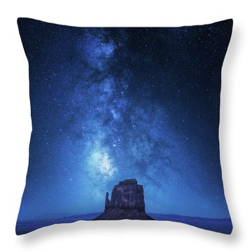 Western United States Throw Pillows