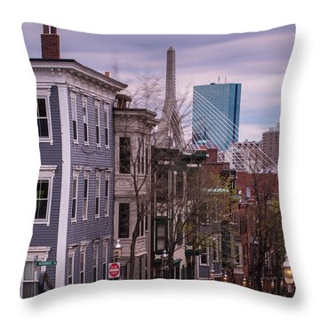 Monument Square Throw Pillow