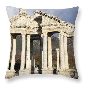 Monumental Gateway Throw Pillow