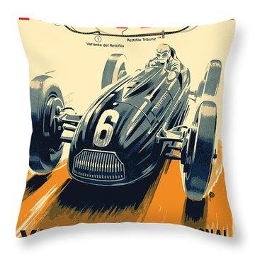 Monza Grand Prix Throw Pillow