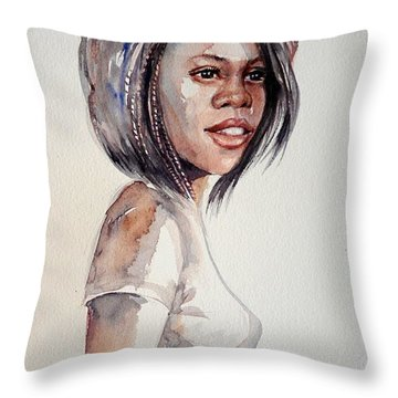 Mood2 Throw Pillow