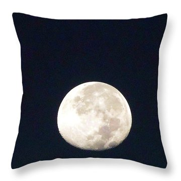 Moon 012 Throw Pillow