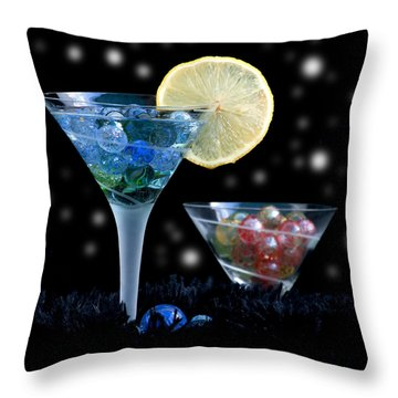 Moon Light Cocktail Lemon Flavour With Stars 1 Throw Pillow