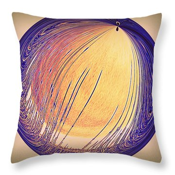 Throw Pillow featuring the photograph Moon Lite Marsh Grass by Irma BACKELANT GALLERIES