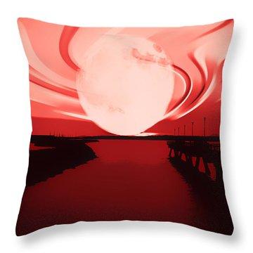 Moon Magic Throw Pillow