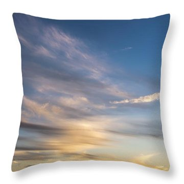 Moon Over Doheny Throw Pillow