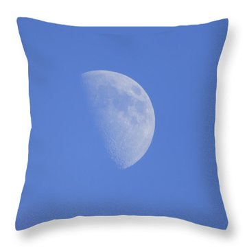 Throw Pillow featuring the photograph Moon Over Marfa by Joel Deutsch