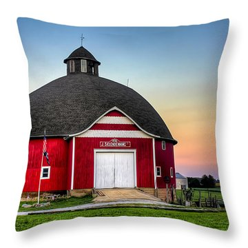 Moon Over Mulberry Throw Pillow