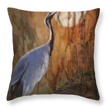 Moon Watch Throw Pillow