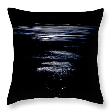 Moon Water Throw Pillow